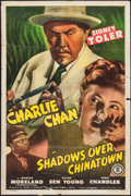 """Movie Posters:Mystery, Shadows over Chinatown (Monogram, 1946). One Sheet (27"""" X 41""""). Mystery.. ..."""
