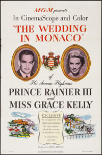 "The Wedding in Monaco (MGM, 1956). One Sheet (27"" X 41""). Documentary"