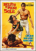 """Movie Posters:Foreign, Purple Noon (CIDIF, 1960). Italian 4 - Foglio (55.25"""" X 77.5""""). Foreign.. ..."""