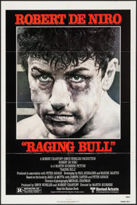 "Raging Bull (United Artists, 1980). One Sheet (27"" X 41""). Drama"