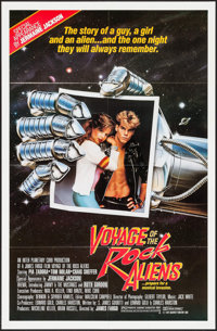 "Voyage of the Rock Aliens & Other Lot (KGA/Interplanetary Curb, 1984). One Sheets (70) (27"" X 41""). Co..."