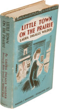 Books:Literature 1900-up, Laura Ingalls Wilder. Illustrated by Helen Sewell and MildredBoyle. Little Town on the Prairie. New York: Harper, 1...