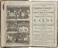 Books:Sporting Books, [Charles Cotton]. The Compleat Gamester: Or, Full andEasy Instructions for Playing at Above Twenty Several Games ...