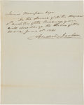 Autographs:U.S. Presidents, Andrew Jackson Autograph Appointment Signed as President....(Total: 2 Items)