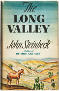 Books:Literature 1900-up, John Steinbeck. The Long Valley. New York: The Viking Press,1938....
