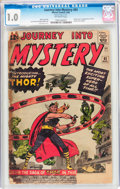 Silver Age (1956-1969):Superhero, Journey Into Mystery #83 (Marvel, 1962) CGC FR 1.0 Off-white pages....