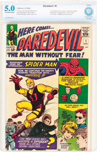 Daredevil #1 (Marvel, 1964) CBCS VG/FN 5.0 Off-white to white pages