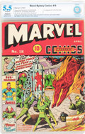 Golden Age (1938-1955):Superhero, Marvel Mystery Comics #18 (Timely, 1941) CBCS Apparent FN- 5.5 Slight to Moderate (P) Off-white pages....
