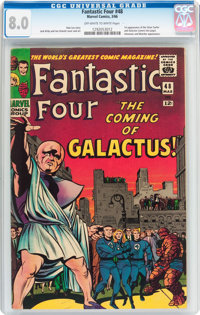 Fantastic Four #48 (Marvel, 1966) CGC VF 8.0 Off-white to white pages