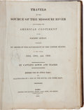 Books:Americana & American History, Meriwether Lewis and William Clark. Travels to the Source of theMissouri River and Across the American Continent to the...