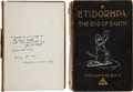 Books:Manuscripts, John Uri Lloyd. [J. Augustus Knapp, illustrator]. Etidorhpa orThe End of Earth. The Strange History of a Mysterio...