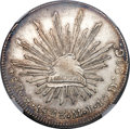 Mexico, Mexico: Republic 8 Reales 1833 Mo-ML AU Details (Surface Hairlines)NGC,...