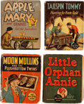 Big Little Book:Miscellaneous, Big Little Book Comic Strip-Related Group of 8 (Whitman,1934-40).... (Total: 8 Comic Books)