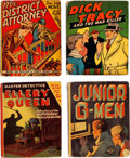 Big Little Book:Miscellaneous, Big Little Book Detective-Related Group of 7 (Whitman, 1935-47)....(Total: 7 Comic Books)