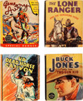 Big Little Book:Miscellaneous, Big Little Book Western Group of 15 (Whitman, 1936-43) Condition:Average FN+.... (Total: 15 Comic Books)