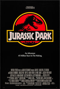 "Jurassic Park (Universal, 1993). One Sheet (26.75"" X 39.75"") DS. Science Fiction"