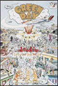 """Movie Posters:Rock and Roll, Green Day: Dookie & Others Lot (Reprise, 1994). Album Posters (3) (24"""" X 36""""). Rock and Roll.. ... (Total: 3 Items)"""