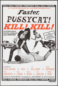 "Faster, Pussycat! Kill! Kill! (Strand Releasing, R-1995). One Sheet (27"" X 40""). Sexploitation"