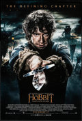 """Movie Posters:Fantasy, The Hobbit: The Battle of the Five Armies (Warner Brothers, 2014).One Sheet (27"""" X 41"""") DS Advance Bilbo with Sting Style. ..."""