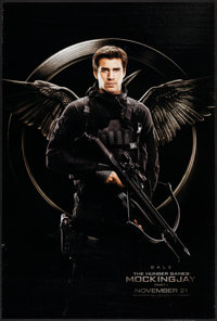 "The Hunger Games: Mockingjay - Part 1 (Lions Gate, 2014). One Sheet (27"" X 40"") DS Advance Gale Hawthorne Styl..."