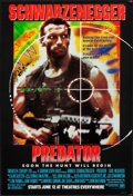 "Movie Posters:Science Fiction, Predator (20th Century Fox, 1987). One Sheet (27"" X 40"") SSAdvance. Science Fiction.. ..."