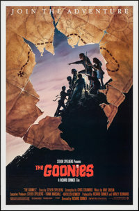 "The Goonies (Warner Brothers, 1985). One Sheet (27"" X 41"") Style B. Adventure"