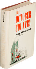 Books:Science Fiction & Fantasy, Ray Bradbury. The October Country. New York: Ballantine Books, [1955]. First edition. Inscribed by Bradbury on the...