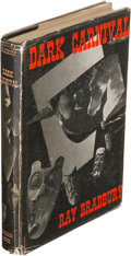 Books:Horror & Supernatural, Ray Bradbury. Dark Carnival. Sauk City: Arkham House, 1947.First edition of the author's first book, one of 3,000 c...