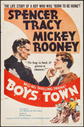 """Movie Posters:Drama, Boys Town & Other Lot (MGM, R-1957). One Sheets (2) (27"""" X 41""""). Drama.. ... (Total: 2 Items)"""