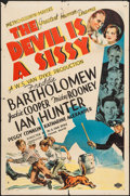 "Movie Posters:Drama, The Devil is a Sissy (MGM, 1936). One Sheet (27"" X 41""). Drama.. ..."