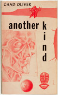 Books:Science Fiction & Fantasy, Chad Oliver. Another Kind. New York: Ballantine Books, [1955]....