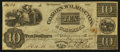 Obsoletes By State:Ohio, Wilmington, OH- Goshen, Wilmington & Columbus Turnpike Company$10 Post Note May 25, 1840. ...