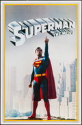 """Movie Posters:Action, Superman the Movie (Thought Factory, 1978). Commercial Posters (2)(23"""" X 36""""). Action.. ... (Total: 2 Items)"""