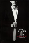 "Movie Posters:Drama, Fifty Shades of Grey (Focus Features, 2015). One Sheets (2) (27"" X 4"") DS Advance Anastasia & Christian Styles. Drama.. ... (Total: 2 Items)"