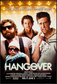 "The Hangover & Other Lot (Warner Brothers, 2009). One Sheets (2) (27"" X 39.75"" & 27"" X 40"")..."