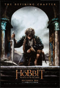 """Movie Posters:Fantasy, The Hobbit: The Battle of the Five Armies (Warner Brothers, 2014).One Sheet (27"""" X 40"""") DS Advance Bilbo Kneeling Style. Fa..."""