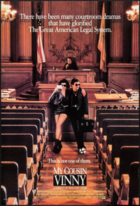 "My Cousin Vinny (20th Century Fox, 1992). One Sheet (26.75"" X 39.75"") DS. Comedy"