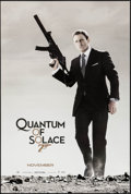 "Movie Posters:James Bond, Quantum of Solace (MGM, 2008). One Sheet (26.75"" X 39.75"") DS Advance. James Bond.. ..."