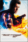 "Movie Posters:James Bond, The World is Not Enough (MGM, 1999). International One Sheet (27"" X40"") DS. James Bond.. ..."