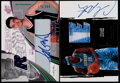 Basketball Cards:Lots, 2002 SPx Yao Ming & 2003 UD Exquisite Autograph Patch CarmeloAnthony Pair (2)....
