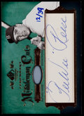 Baseball Cards:Singles (1970-Now), 2005 SP Legendary Cuts Pee Wee Reese Middleman Cuts Signature #'d12/39....