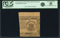 Colonial Notes:Continental Congress Issues, Continental Currency May 10, 1775 $1 Pink Counterfeit Detector Fr. CC-1DT. PCGS Extremely Fine 40 Apparent.. ...