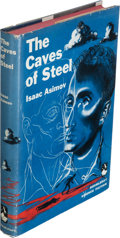 Books:Science Fiction & Fantasy, Isaac Asimov. The Caves of Steel. Garden City: Doubleday& Company, 1954. First edition....