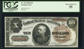 Large Size:Treasury Notes, Fr. 366 $10 1890 Treasury Note PCGS Choice About New 55.. ...
