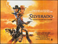 "Movie Posters:Western, Silverado (Columbia-EMI-Warner, 1985). British Quad (30"" X 40""). Western.. ..."