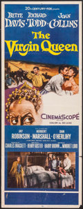 "Movie Posters:Drama, The Virgin Queen (20th Century Fox, 1955). Insert (14"" X 36""). Drama.. ..."