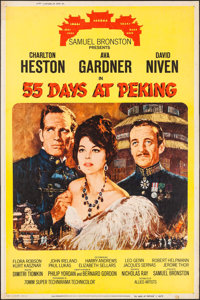 "55 Days at Peking (Allied Artists, 1963). Poster (40"" X 60"") Style Y. Adventure"
