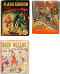 Big Little Book:Miscellaneous, Big Little Book Buck Rogers/Flash Gordon Group of 3 (Whitman,1933-35).... (Total: 3 Comic Books)