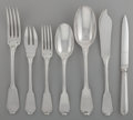 Silver Flatware, French:Flatware, A Thirty-Two Piece Tetard Freres Silver Partial Flatware Service,Paris, France, circa 1910. Marks: (Minerva's head), (urn-T...(Total: 32 )