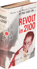Books:Science Fiction & Fantasy, Robert A. Heinlein. Revolt in 2100. Chicago: ShastaPublishers, [1953]. First edition. Signed by Heinlein on the...